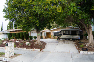Front Yard, 5832 Valerie Ave, Woodland Hills home for sale by The Lauras Real Estate Team